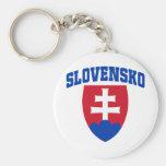 Slovak Emblem Key Chains