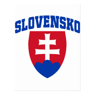Slovak Emblem Post Card