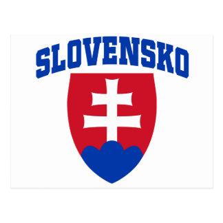 Slovak Emblem Post Cards