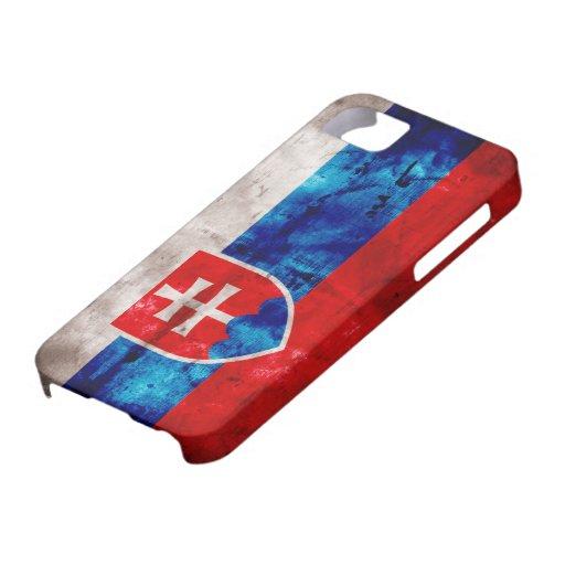 Slovak Flag iPhone 5 Covers