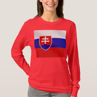 Slovak flag of Slovakia on Tees and for gifts