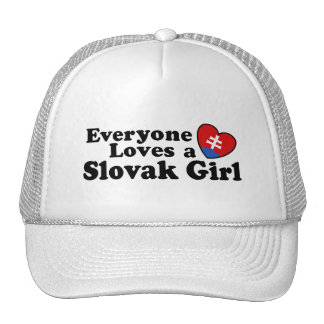Slovak Girl Trucker Hat