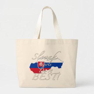 Slovak Girls Do It Best! Canvas Bag