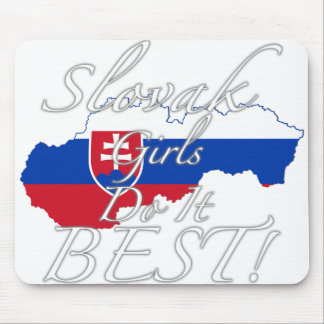 Slovak Girls Do It Best! Mouse Pad