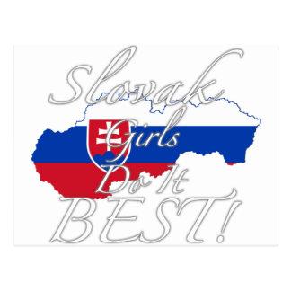 Slovak Girls Do It Best! Postcard