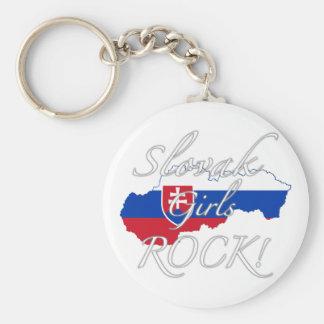 Slovak Girls Rock! Keychain