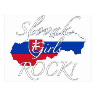 Slovak Girls Rock! Postcard