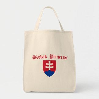 Slovak Princess COA Tote Bag