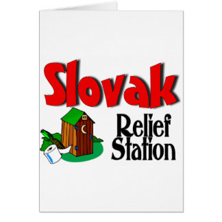 Slovak Relief Station Cards