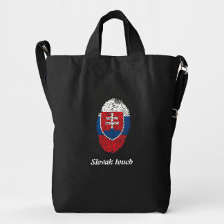 Slovak touch fingerprint flag duck bag