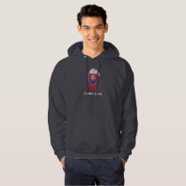 Slovak touch fingerprint flag hoodie