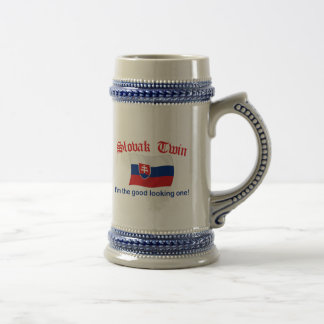 Slovak Twin Good Looking One Beer Stein