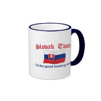 Slovak Twin Good Looking One Ringer Coffee Mug