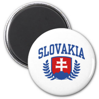 Slovakia 2 Inch Round Magnet