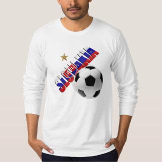 Slovakia ball star Slovakian flag gifts for Slavs T-Shirt