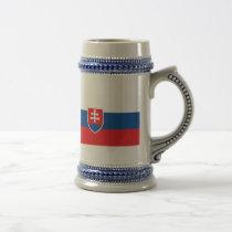 slovakia beer stein