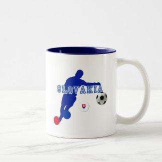 Slovakia bend it Slovaks Slovensko gifts Two-Tone Coffee Mug
