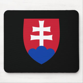 Slovakia Coat of Arms Mouse Pad