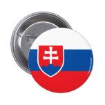Slovakia Flag 2 Inch Round Button