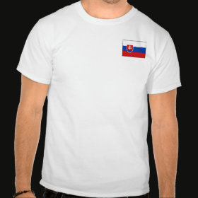 Selected Slovakia T-Shirt Front