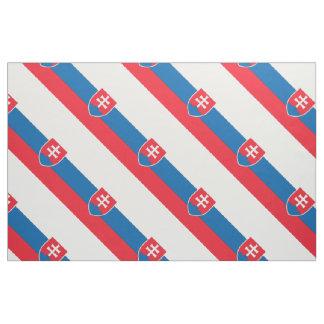 Slovakia Flag Fabric