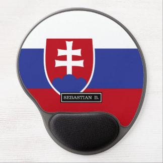 Slovakia Flag Gel Mouse Pad