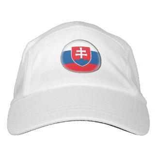 Slovakia Flag Headsweats Hat