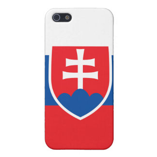 Slovakia Flag iPhone iPhone SE/5/5s Cover