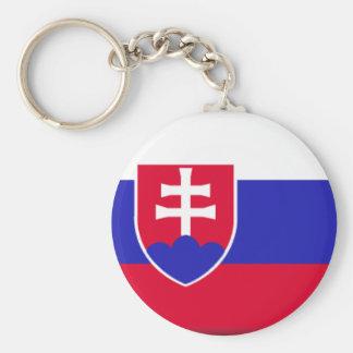 Slovakia Flag Key Chains