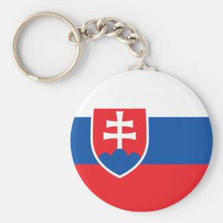Slovakia Flag Keychain