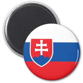 Slovakia Flag Magnet