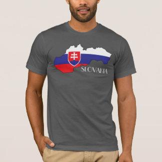 Slovakia Flag-Map Shirt