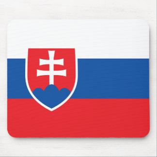 Slovakia Flag Mouse Pad