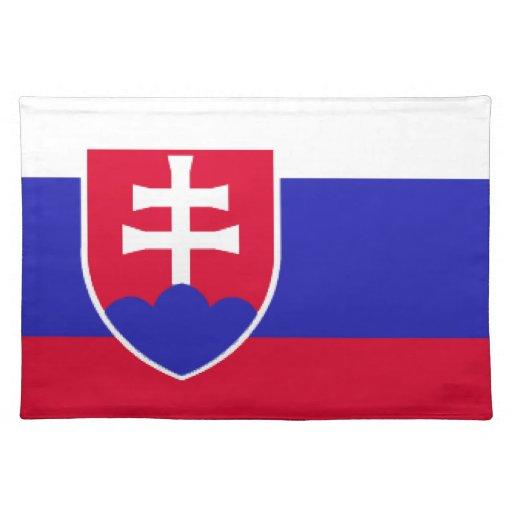 Slovakia Flag Place Mat