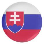 Slovakia Flag Plates