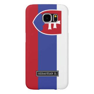 Slovakia Flag Samsung Galaxy S6 Case