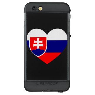Slovakia Flag Simple LifeProof NÜÜD iPhone 6s Plus Case