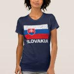 Slovakia Flag Vintage Shirt
