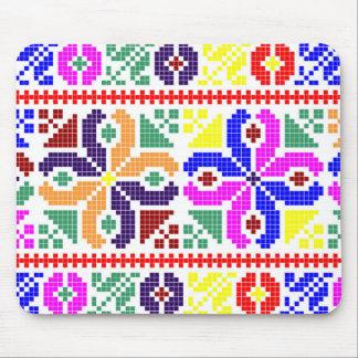 slovakia folk pattern motif traditional ethnic sym mouse pad