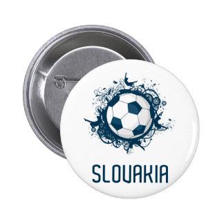 Slovakia Football 2 Inch Round Button