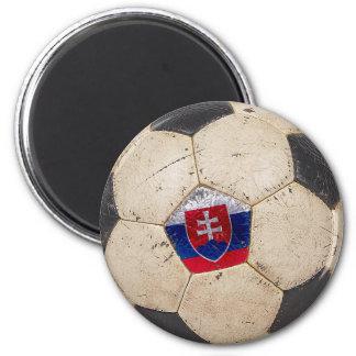 Slovakia Football 2 Inch Round Magnet