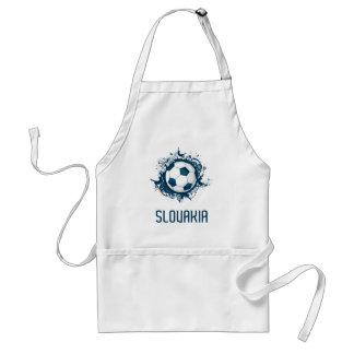 Slovakia Football Adult Apron