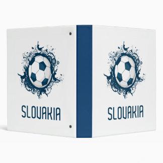 Slovakia Football Binder
