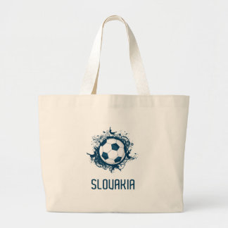 Slovakia Football Jumbo Tote Bag