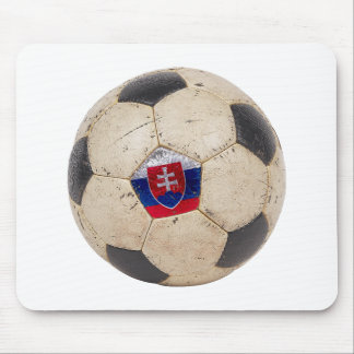 Slovakia Football Mouse Pad