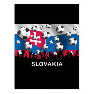 Slovakia Football Postcard
