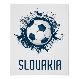 Slovakia Football Poster