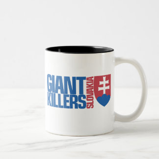 Slovakia Giant Killers Futbol Football Soccer Mugs