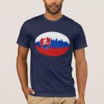 Slovakia Gnarly Flag T-Shirt