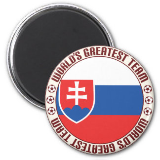Slovakia Greatest Team 2 Inch Round Magnet